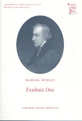 Exultate Deo for mixed chorus and organ score