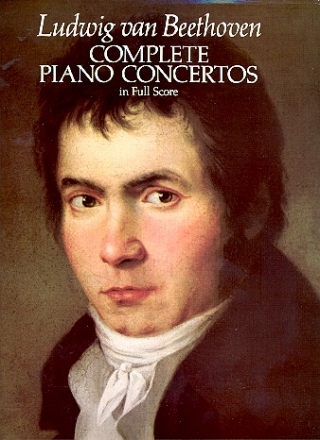 Complete concertos - for piano and orchestra full score