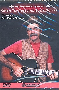 An introduction to open tunings and slide guitar  DVD