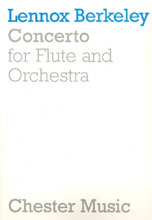 Concerto - for Flute and Orchestra Vocal Score