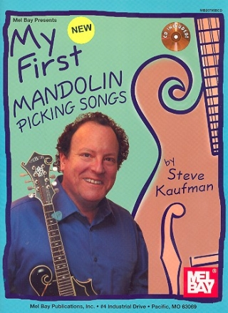 My first Mandolin Picking Songs (+CD)