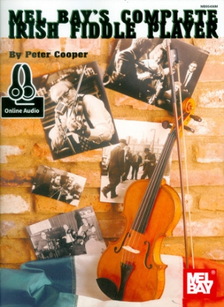 Complete Irish Fiddle Player (+Online Audio Access) - for violin (fiddle)