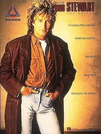 Best of Rod Stewart - for guitar recorded versions