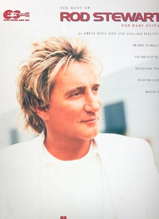 The Best of Rod Stewart - Songbook easy guitar / tab / vocal