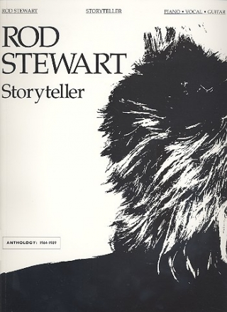 Rod Stewart - Storyteller - Anthology 1964-1989 for piano/vocal/guitar Songbook