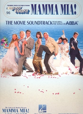 Mamma Mia (The Movie Soundtrack) - for organs, pianos and electronic keyboards EZ play today vol.96