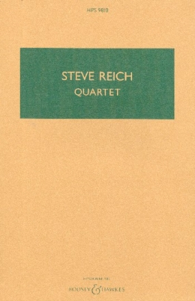 Quartet for 2 vibraphones and 2 pianos study score