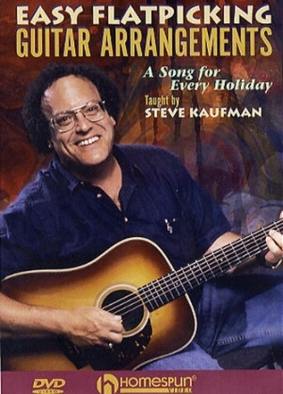 A song for every holiday - Easy flatpicking guitar arrangements DVD-Video