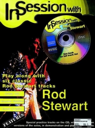 In Session with Rod Stewart (+CD) - Songbook for guitar original und backing tracks