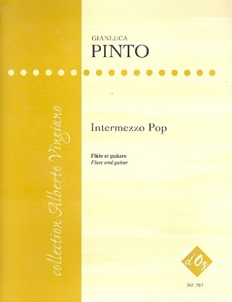 Intermezzo Pop pour flute et guitare partition et parties
