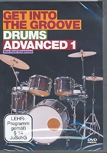 Get into the Groove - Drums advanced vol.1 - DVD (dt)