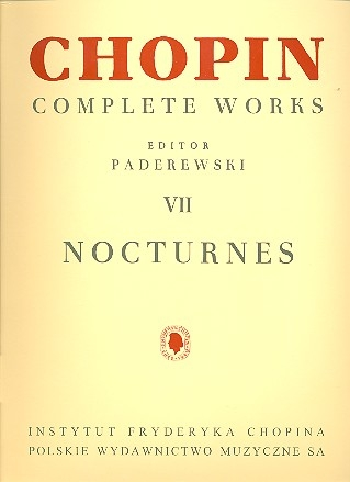 Chopin Complete Works, Vol. 7 - Nocturnes