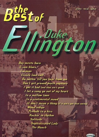 The Best of Duke Ellington: Songbook piano/vocal/guitar