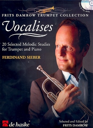 Vocalises (+CD) - for trumpet and piano