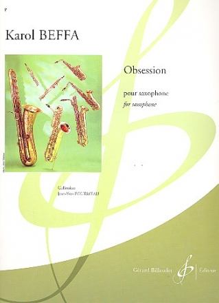 Obsession pour saxophone