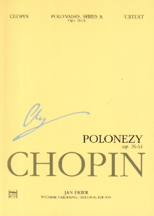 National Edition vol.6 A 6 - polonaises for piano study score