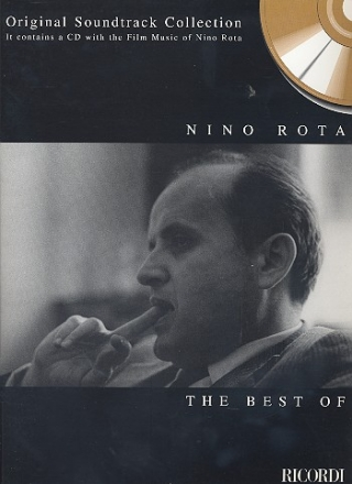 The best of Nino Rota (+CD): songbook for piano/guitar/voice original soundtrack collection