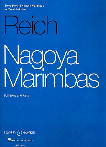 Nagoya Marimbas for 2 marimbas score and parts