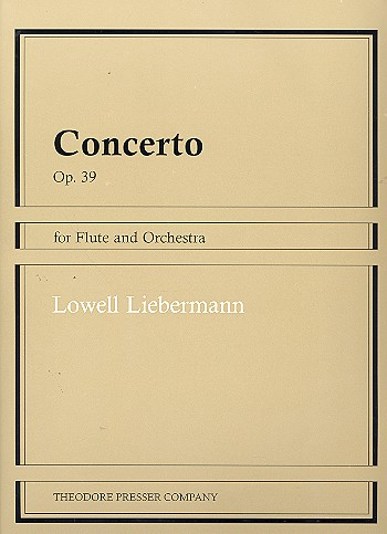 Concerto op.39  for flute and orchestra - for flute and piano