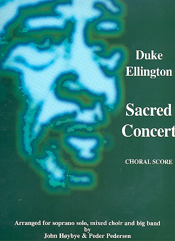 Sacred concert for soprano solo, mixed choir and big band, choral score (en)