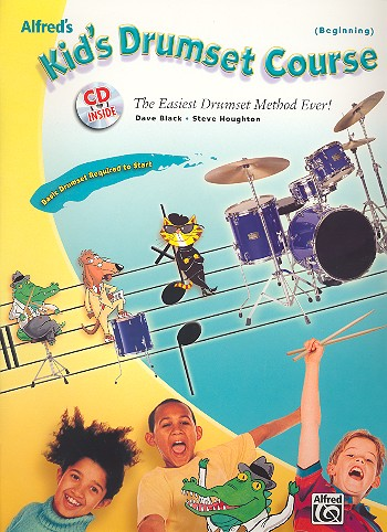 Kid's Drumset Course vol.1 (+CD) The easiest drumset method ever