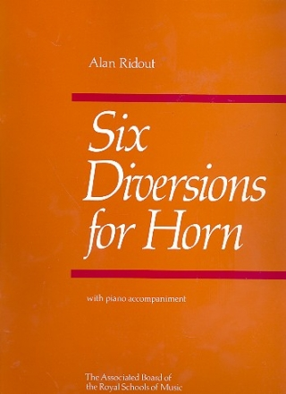 6 Diversions for horn and piano