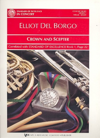 Crown and scepter for concert Band score and parts
