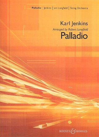 Palladio for string orchestra score and parts (8-8-4-4-4-4)
