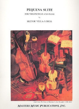 Pequena Suite for violoncello and piano