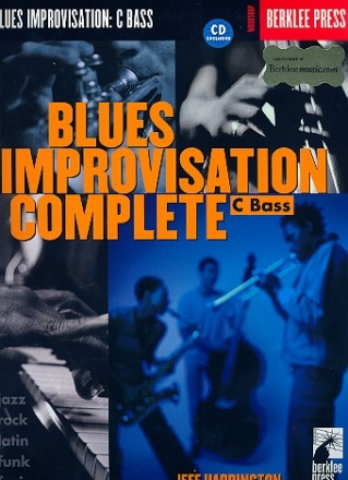 Blues Improvisation complete (+CD) - for C bass instruments