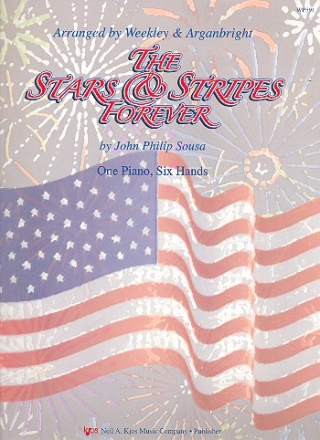 The Stars and Stripes forever - for piano 6 hands score