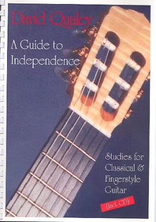 A Guide to Independence (+CD) for guitar/tab
