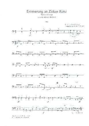 Erinnerung an Zirkus Renz - für Akkordeonorchester Akkordeon solo ...
