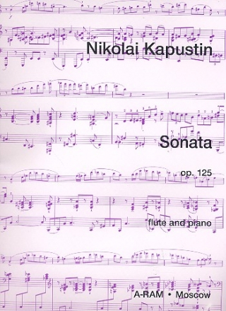 Sonata op.125 - for flute and piano