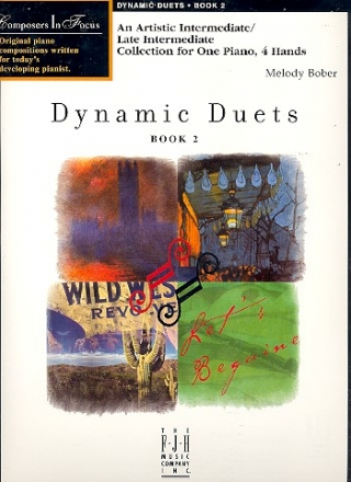 Dynamic Duets vol.2 - for piano 4 hands score