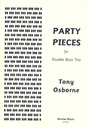 Party Pieces for 3 double basses score and parts