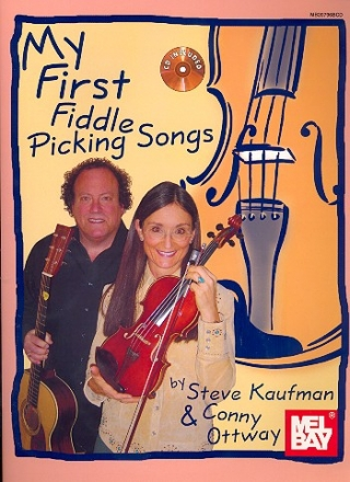 My first Fiddle Picking Songs (+CD): for violin