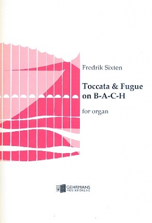 Toccata and Fugue on B-A-C-H - for organ