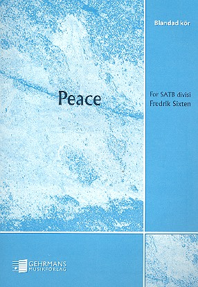Peace - for mixed chorus a cappella score
