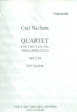 Quartet in F Major op.44 - for 2 violins, viola and cello parts,  archive copy