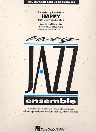 Happy - for jazz ensemble score and parts