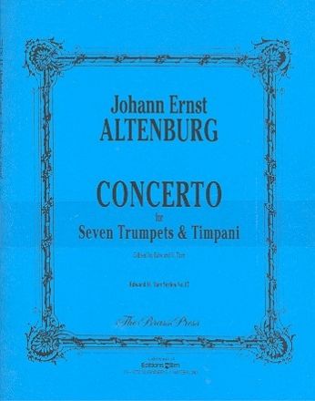 Concerto - for 7 trumpets and timpani score and parts