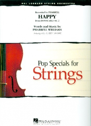 Happy - for string orchestra score and parts (8-8-4--4-4-4)