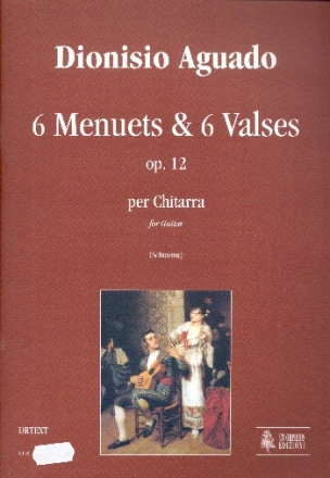 6 Menuets & 6 Valses op.12 - for guitar