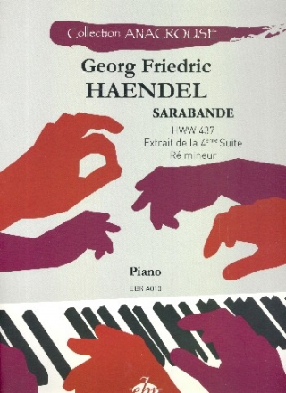Sarabande in d Minor from Suite no.4 HWV437 - for piano