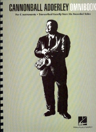 Cannonball Adderley - Omnibook - for C instruments