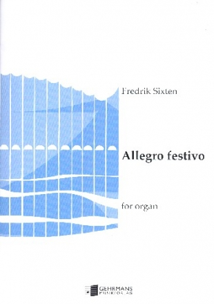 Allegro festivo - for organ