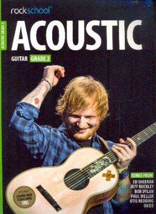 Rockschool Acoustic Guitar - Grade 2 - for vocal/guitar/tab/rockscore