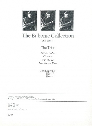 The Bubonic Collection vol.1 for 3 bassoons score and parts