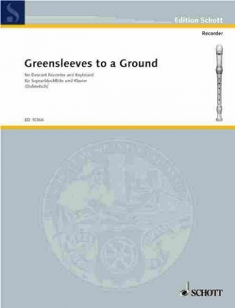 Greensleeves to a Ground 12 Divisions for soprano recorder and harpsichord